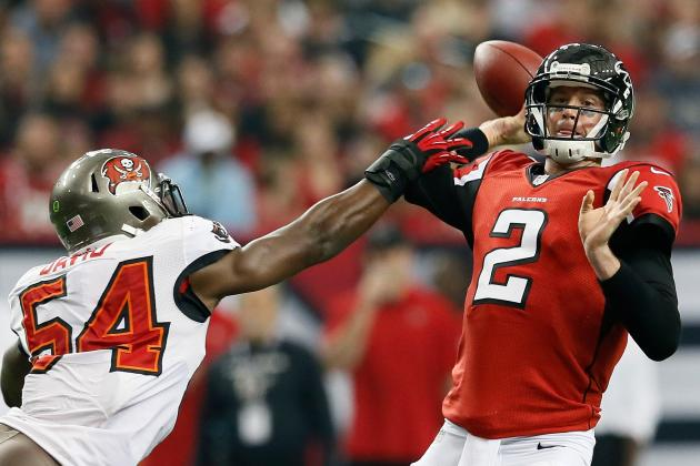 Falcons' Abraham, Robinson injured in loss