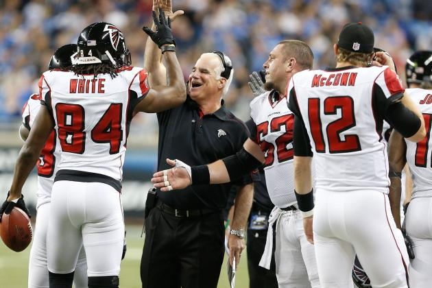 Smith Optimistic on Falcons' Injuries
