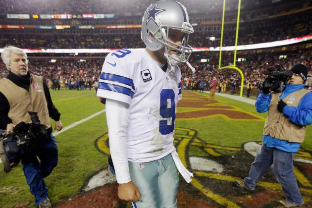 Cowboys' Season Comes to Close with Romo's 3 INTs