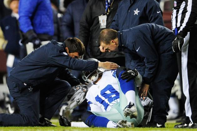 Romo, Bryant, Austin Among Ailing Cowboys