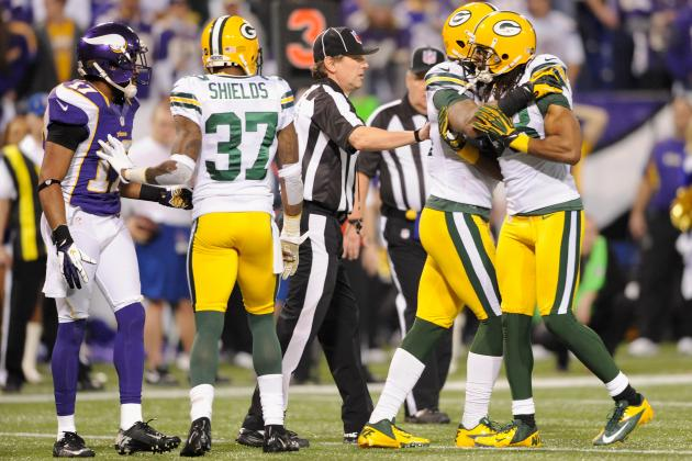 Peterson, Ponder Give Packers a Wake-Up Call