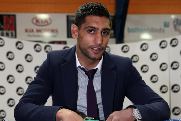 Amir Khan Has No Desire to Go to 147 Just Yet