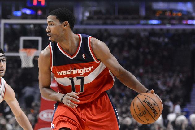 Garrett Temple at Point After Wizards' Changing of the Guards