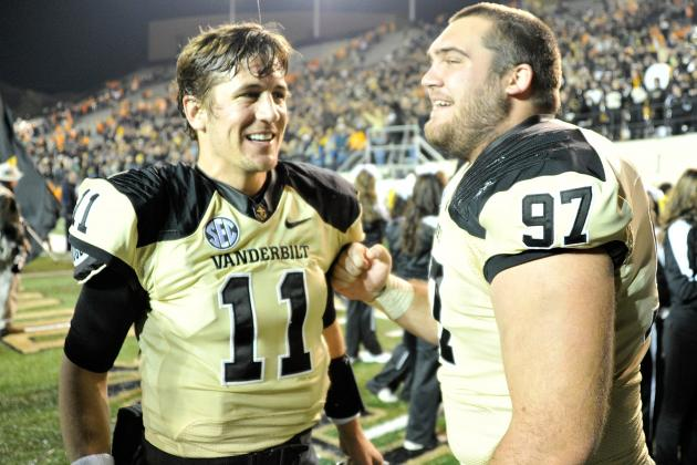 Music City Bowl 2012: SEC Supremacy Will Push Vanderbilt to Victory vs. NC State