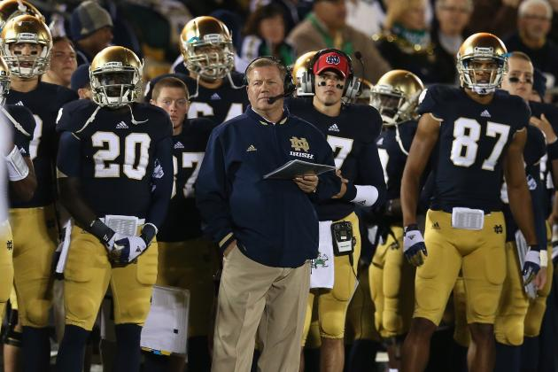 Kelly Says ND Will Pick Its Spots to Ramp Up Tempo Against Alabama Defense
