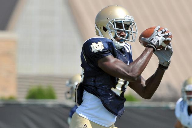 Notre Dame Football: Contact No Problem for Daniels
