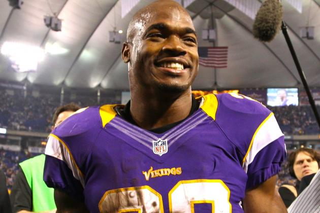 Adrian Peterson Tells Eric Dickerson I'm Coming For You And Record