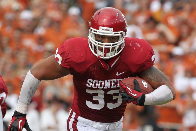 Oklahoma Fullback Trey Millard Weighing Pros and Cons of Entering NFL Draft