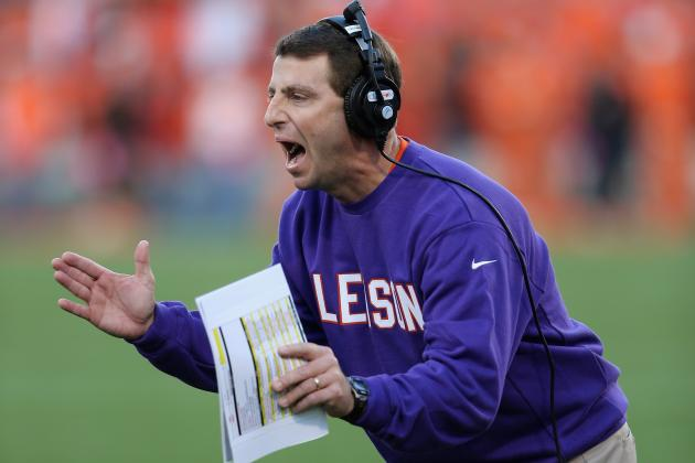 Dabo: To Live in Top 10, Tigers 'have to Step Up and Win Games Like This'