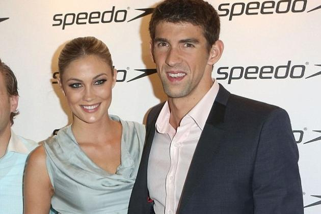 Olympic Swimmer Michael Phelps Reportedly Splits with Girlfriend Megan Rossee