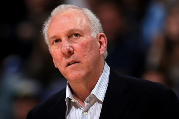 Gregg Popovich on Resting Stars: 'I've Done It Before, and I'll Do It Again'