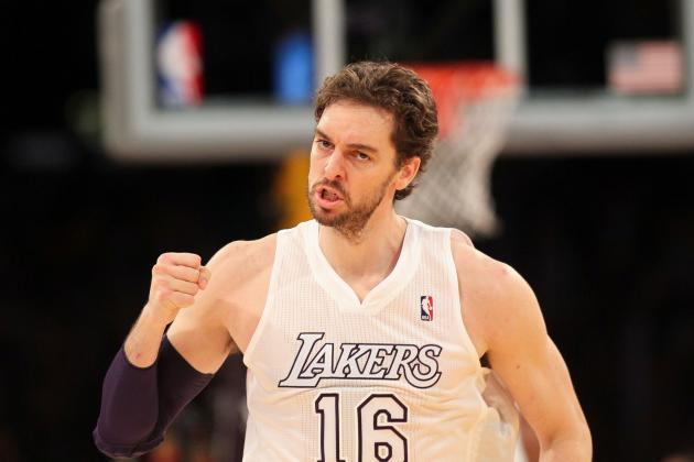 LA Wise to Go All-in with Gasol for NBA Championship Run This Season