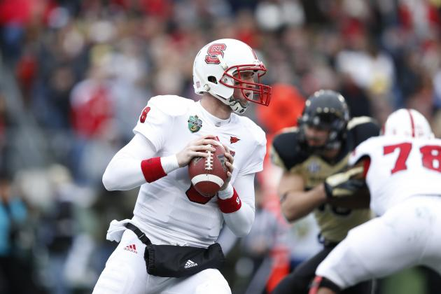 Music City Bowl 2012: NC State QB Mike Glennon Hurts NFL Draft Stock in Loss