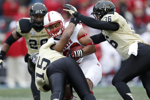 Vandy Beats Turnover-Prone N.C. State in Music City Bowl