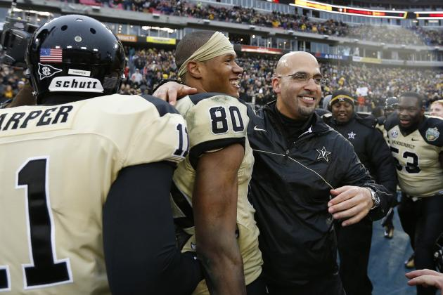 Vanderbilt Wins Music City Bowl for First Nine-Win Season Since 1915