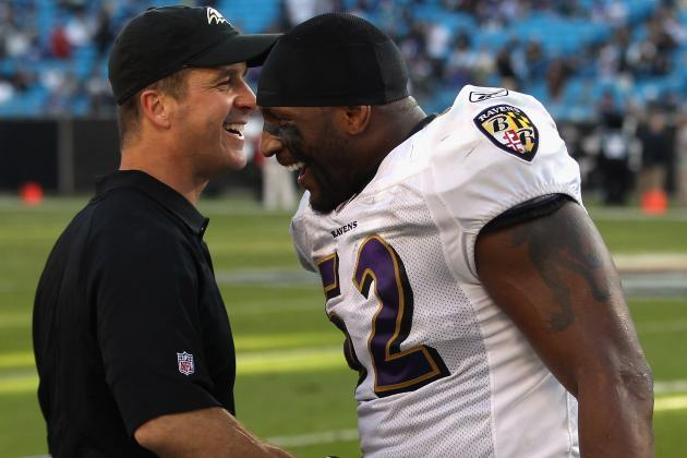 John Harbaugh Mum on Ray Lewis