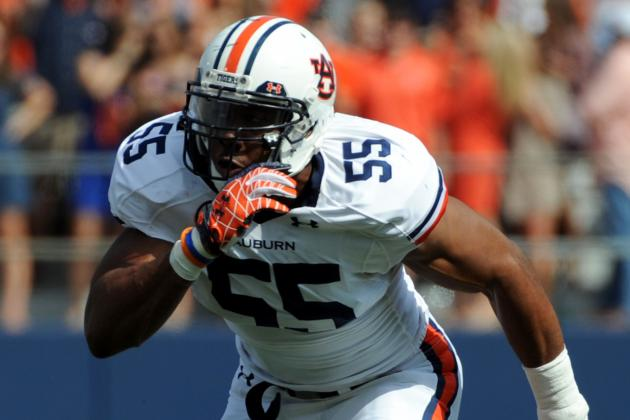 Auburn Defensive End Corey Lemonier to Enter NFL Draft