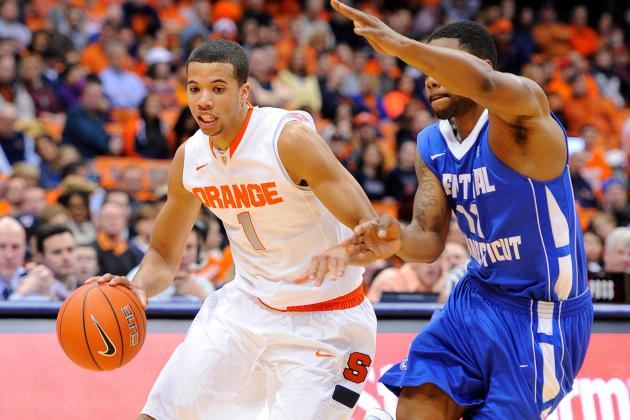 Syracuse's Boeheim Ties Knight with 902nd Win