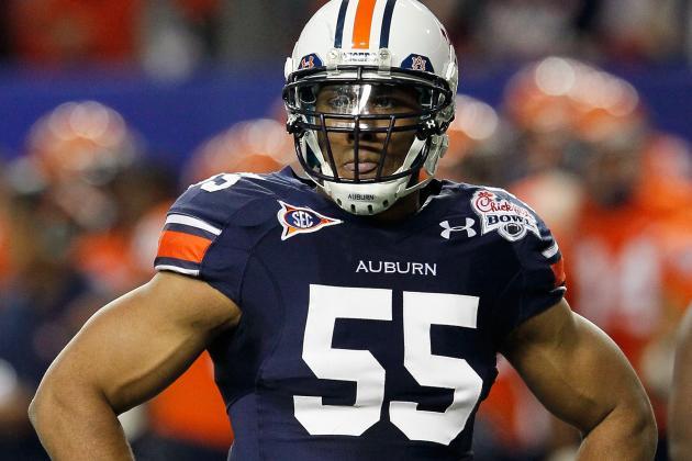 Report: Auburn's Corey Lemonier Will Leave Early to Enter the NFL Draft