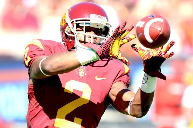 USC WR Robert Woods Officially Enters NFL Draft