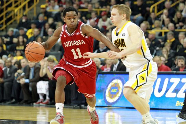 No. 5-Ranked Hoosiers Hold off Iowa in Big Ten Opener