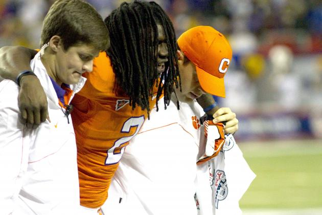 Sammy Watkins Injury: Updates on Clemson Star WR's Leg