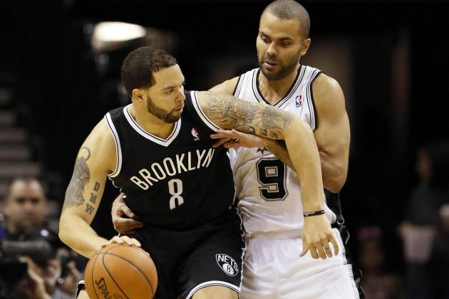 Tony Parker Leads Spurs over Nets for 6th Straight Win
