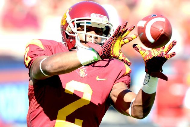 USC Football: How Robert Woods' Decision to Go Pro Impacts Trojans' 2013 Offense