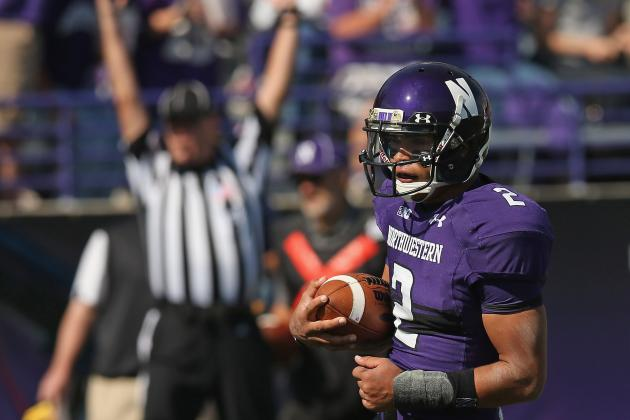 Gator Bowl 2013: Kain Colter Will Lead Northwestern to Win vs. Mississippi St.
