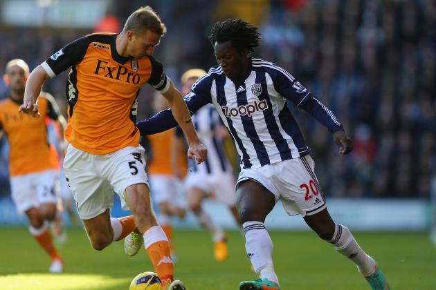 West Brom 1-2 Fulham: Berba Strikes
