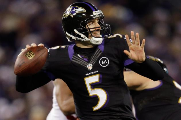 Colts vs. Ravens: Joe Flacco Must Prove He's an Upper Echelon QB