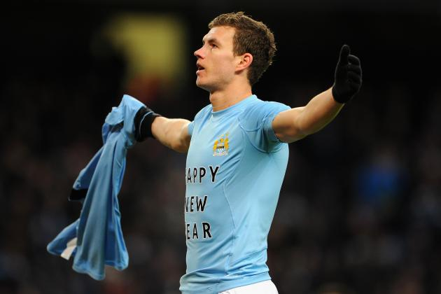 Edin Dzeko Is the Latest Victim for Revealing New Year Message