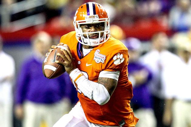 Clemson Football: Epic Win over LSU Makes Tajh Boyd a Top 10 2013 NFL Draft Pick
