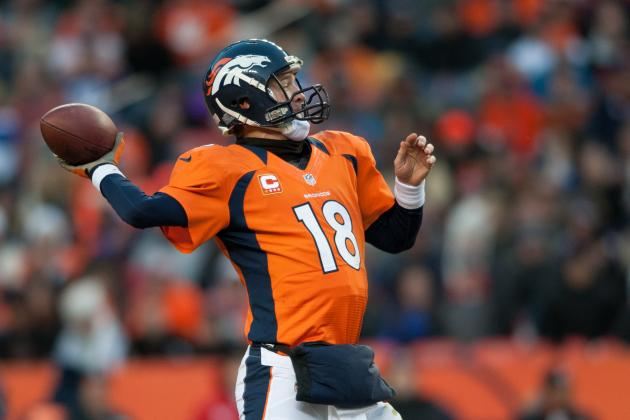 Peyton Manning: Why He Deserves NFL MVP Over Adrian Peterson
