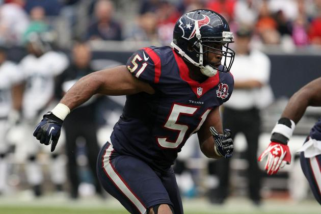 Texans Place Darryl Sharpton on Injured Reserve