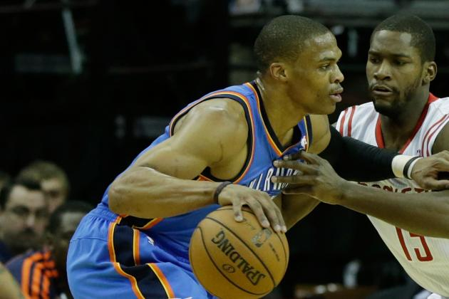Westbrook Returns from Cut, Propels Thunder