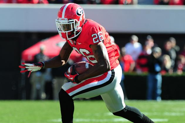 Malcolm Mitchell Won't Return vs. Nebraska After Taking Hard Hit