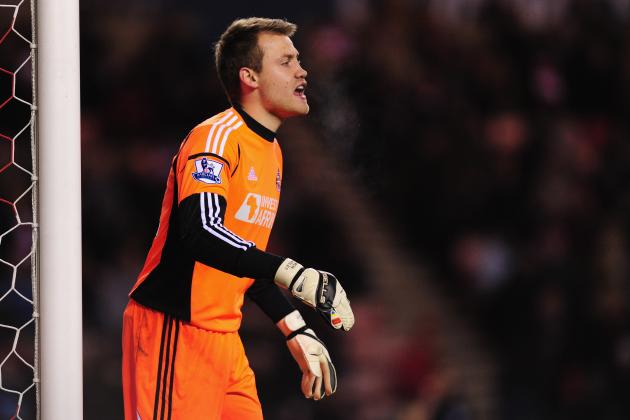 Sunderland Goalkeeper Simon Mignolet Happy on Wearside Despite Speculation