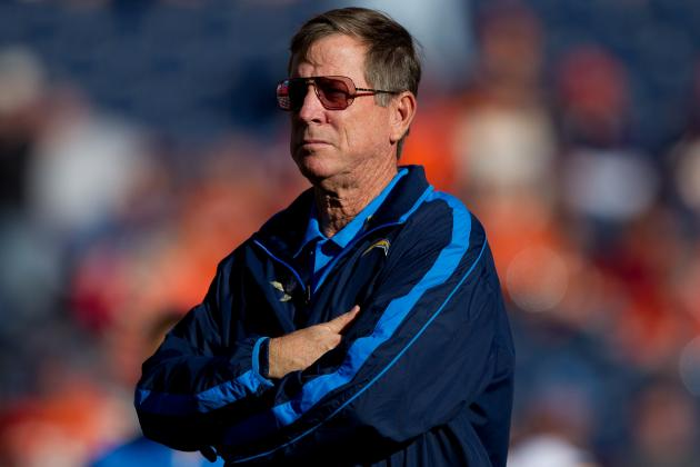Norv Turner: Chargers Aren't Close to Playoffs