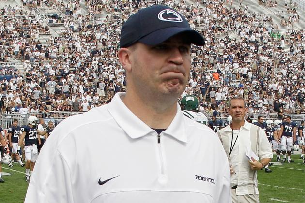Penn State Coach Bill O'Brien Considering an NFL Interview
