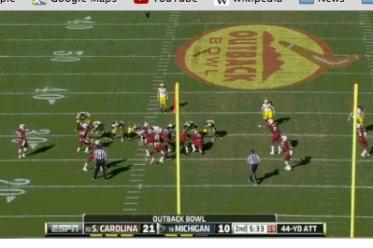Michigan Gets Tricky on FG Attempt