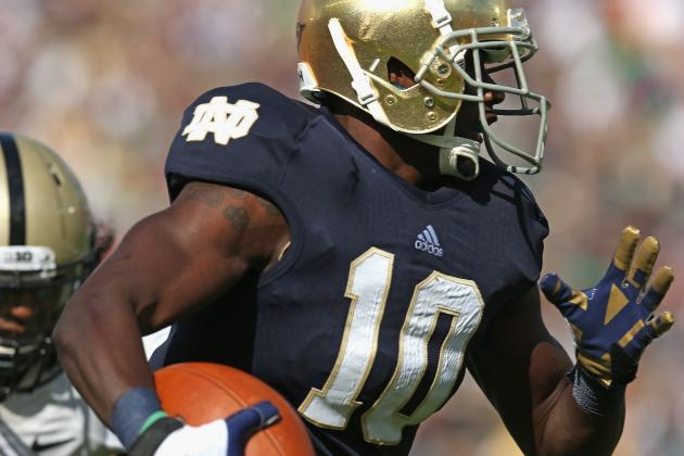 Notre Dame WR DaVaris Daniels Ready to Go