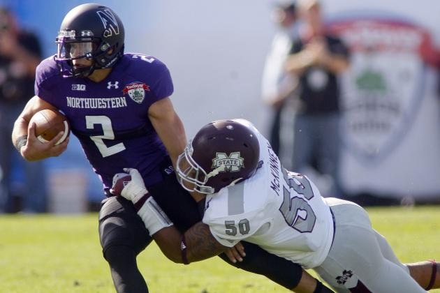No. 21 Northwestern 34, Mississippi St. 20