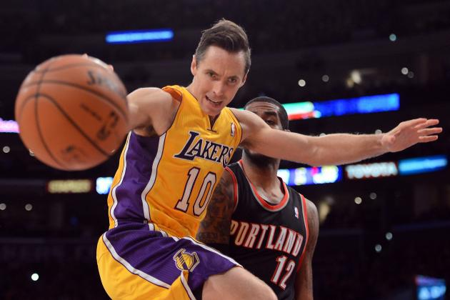 Lakers Offense Flows with Nash at Controls