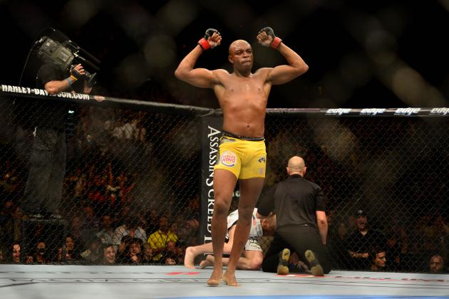 UFC on Fuel TV Video: Anderson Silva Leads Top 10 Moments of 2012