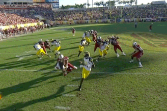 Clowney's Monster Hit