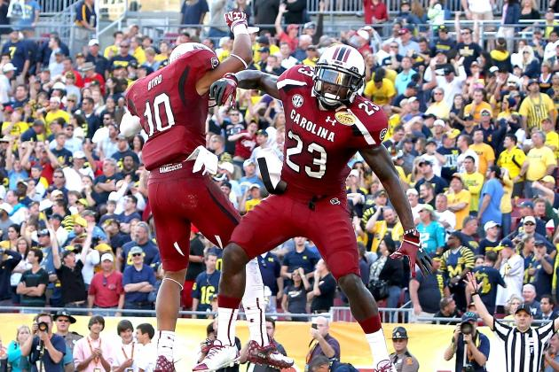 South Carolina vs. Michigan: Twitter Reaction, Postgame Analysis and Recap