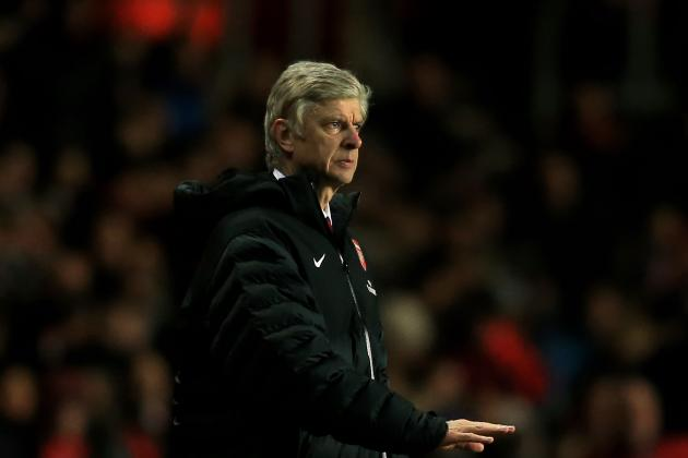 EPL 2012/13: Arsenal Are in Grave Danger of Missing out on Champions League