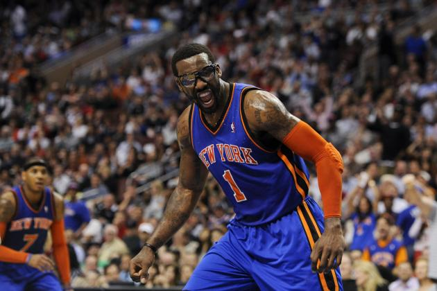 Amar'e Stoudemire's Return Is Exactly What the New York Knicks Need