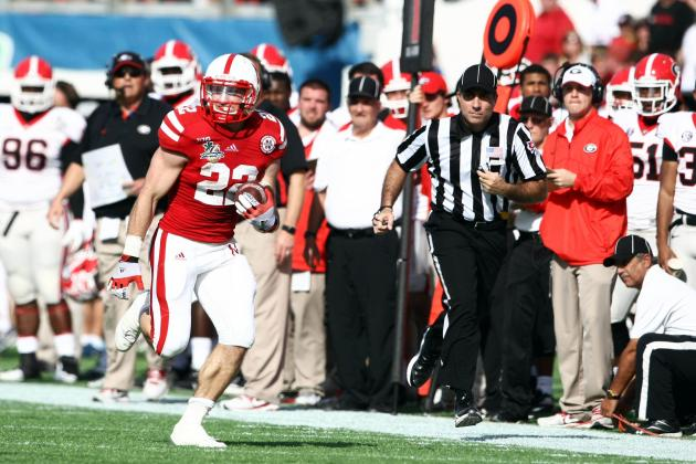 Georgia vs. Nebraska: How Rex Burkhead's Performance Impacts NFL Draft Stock